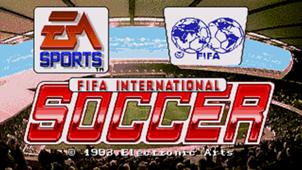 FIFA International Soccer 94 title card