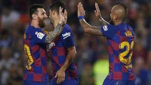 Messi Vidal Barcelona 2019