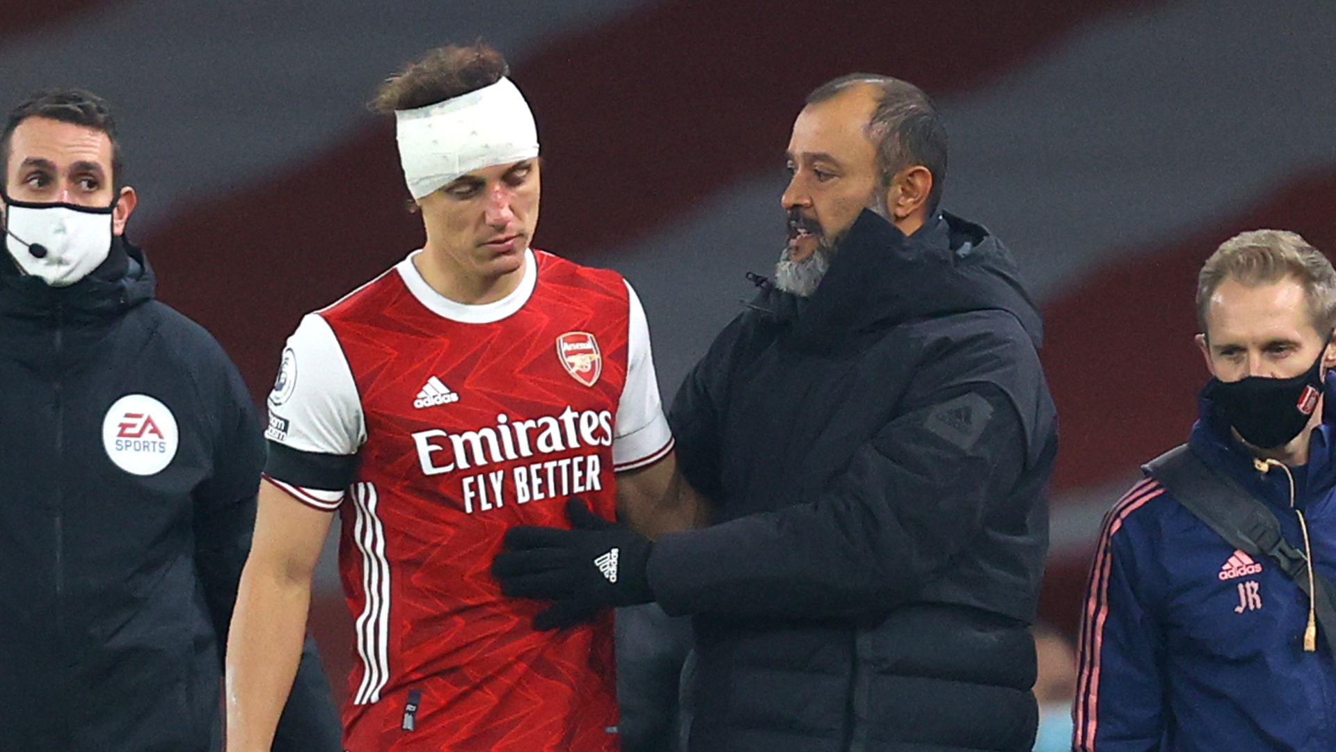 Nuno calls for concussion substitutes in Premier League after Wolves star Jimenez suffers fractured skull