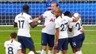 Tottenham celebrate vs Everton 2019-20