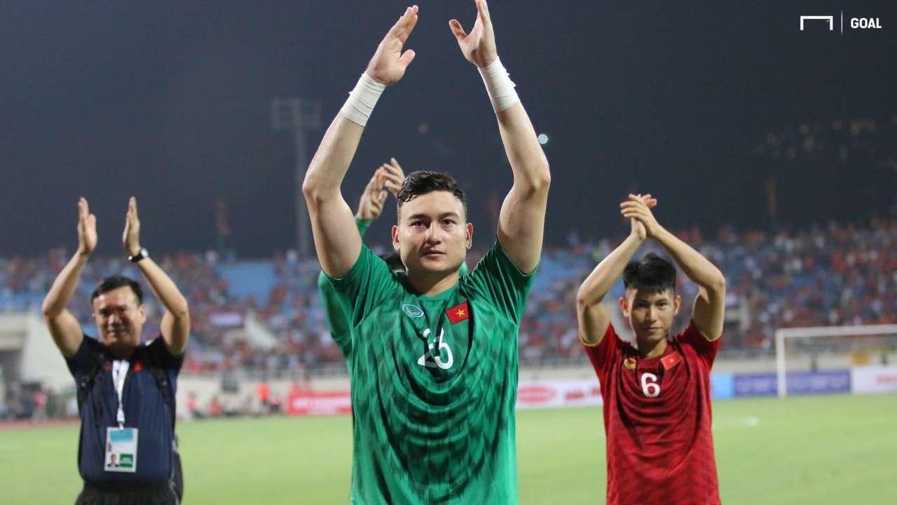 Dang Van Lam | Thailand vs Vietnam 2022 FIFA World Cup qualification