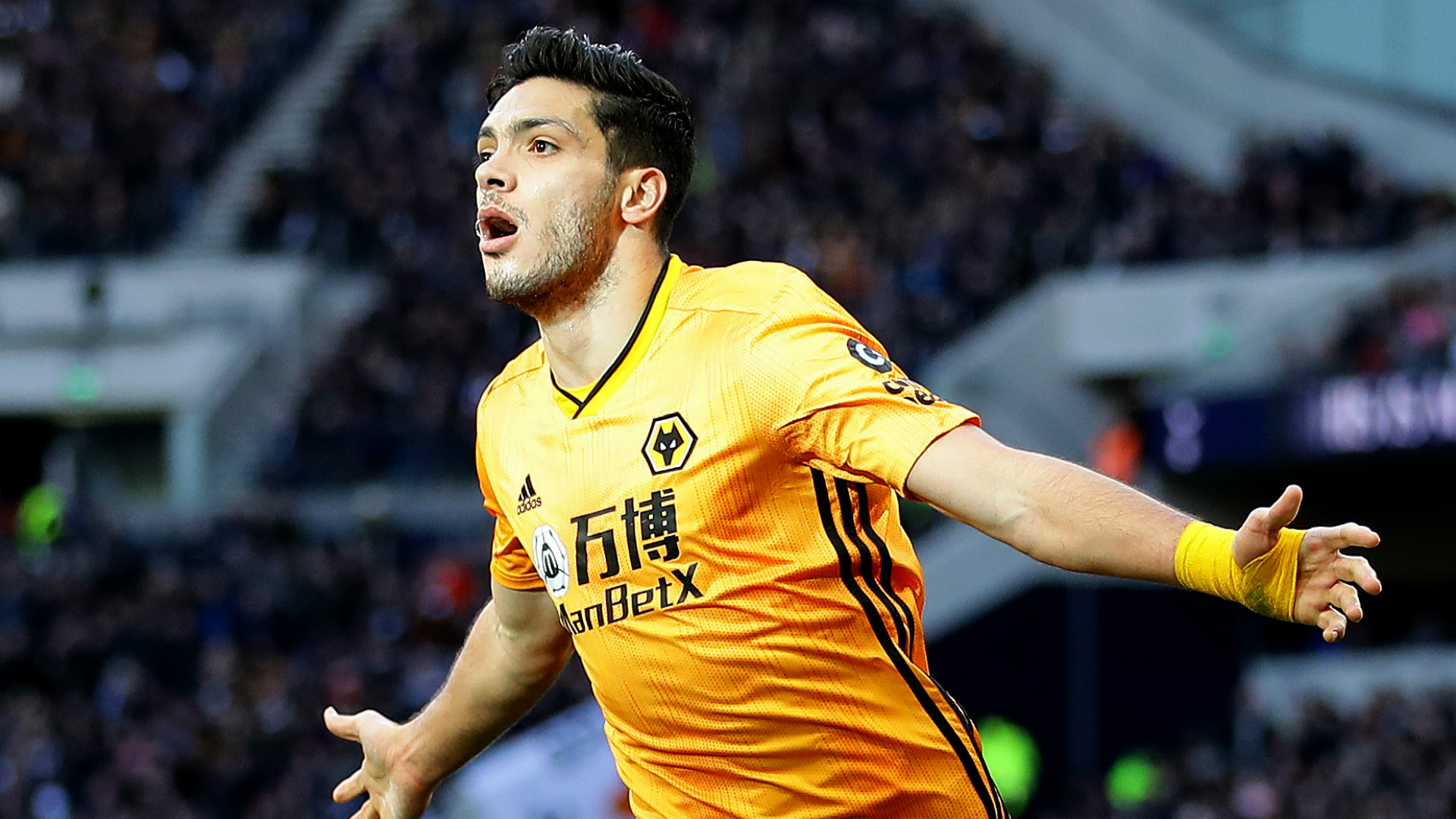 Man Utd target Jimenez says he is 'very happy' at Wolves