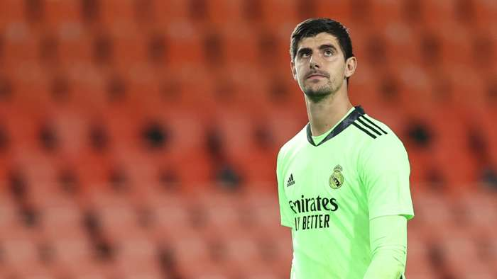 Courtois Real Madrid 2020