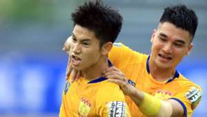 Nguyen Trong Hung - Le Van Dai Thanh Hoa vs Ha Noi FC Round 9 V.League 2019