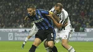 Icardi Chiellini Inter Juventus