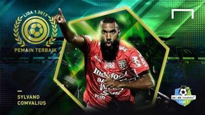 Pemain Terbaik Liga 1 2017- Sylvano Comvalius