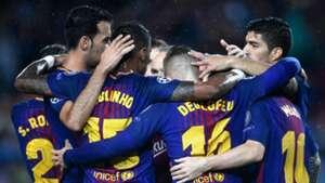 Paulinho Gerard Deulofeu Barcelona