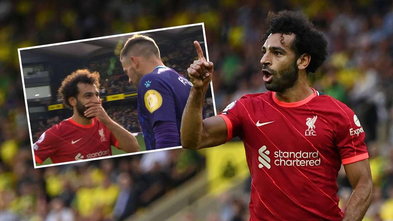 Mohamed Salah Ben Foster Liverpool Watford