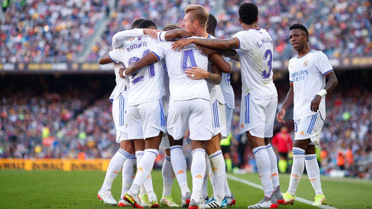 Real Madrid Barcelona 2021-22