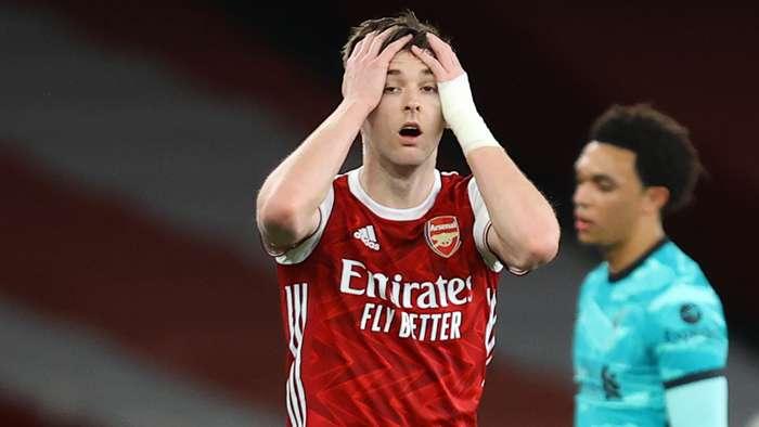 Kieran Tierney Arsenal 2020-21