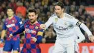 Lionel Messi Sergio Ramos Barcelona Real Madrid 2019-20
