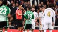 Real Madrid-Betis, revisión del árbitro