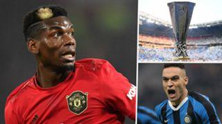 Paul Pogba Manchester United Europa League Lautaro Martinez Inter
