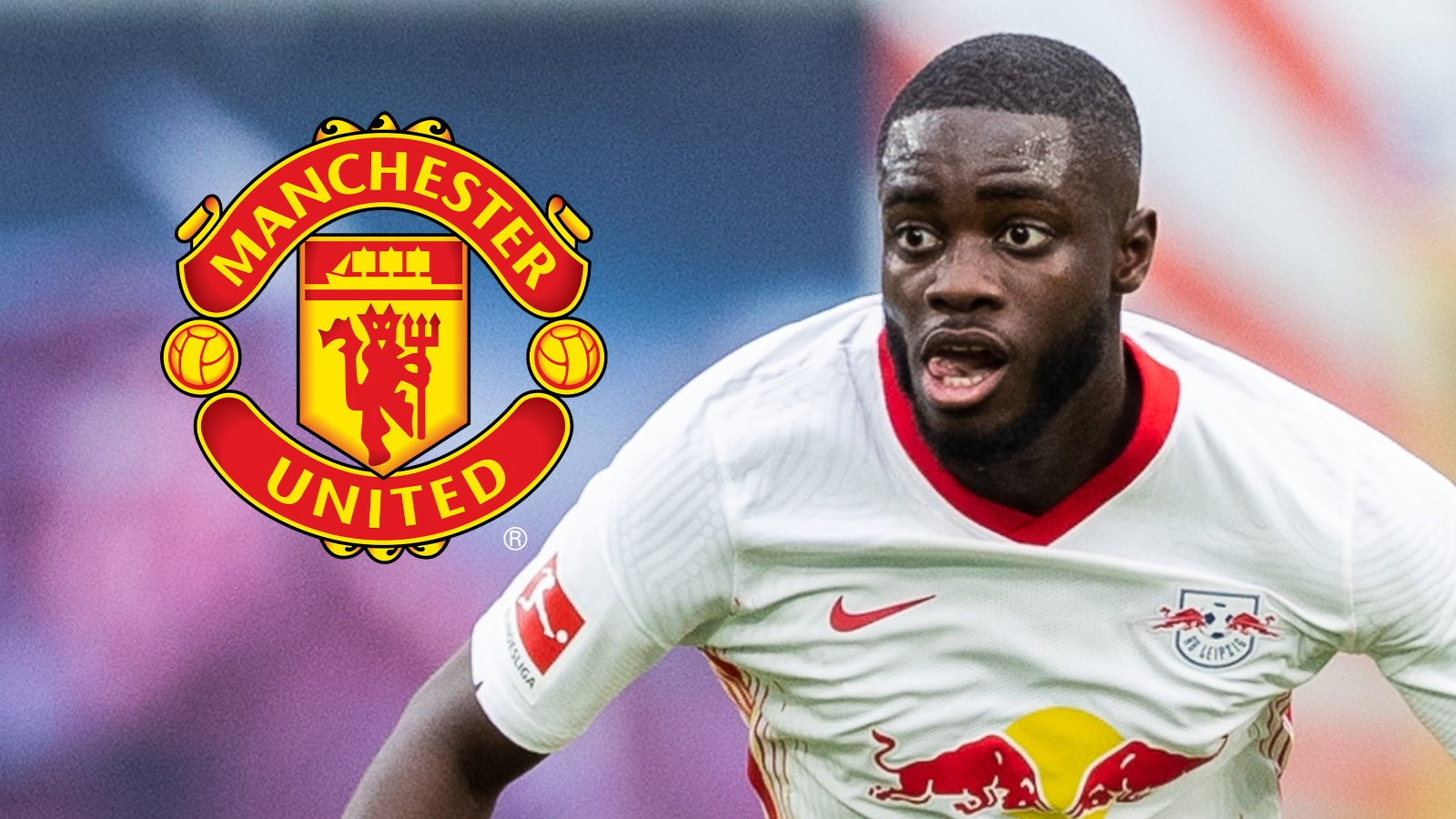 RB Leipzig hint they're willing to listen to offers for Man Utd & Liverpool-linked Upamecano