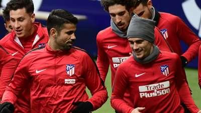 Diego Costa Antoine Griezmann Atletico Madrid