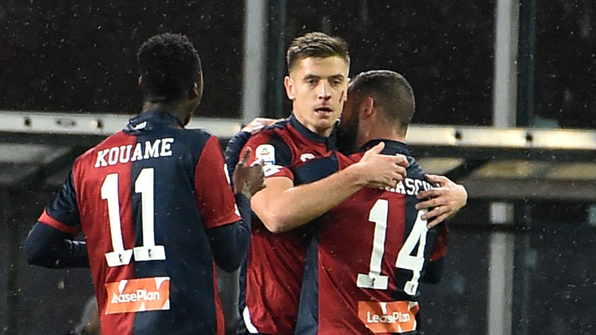 Krzysztof Piatek Genoa Sampdoria Serie A
