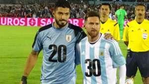 Luis Suarez Lionel Messi Uruguay Argentina 31082017 world cup 2030