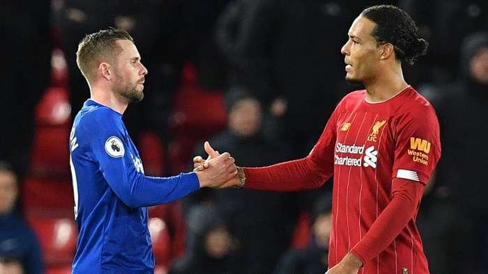 Liverpool Everton Gylfi Sigurdsson Virgil van Dijk 2019-20