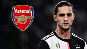 Adrien Rabiot Juventus Arsenal