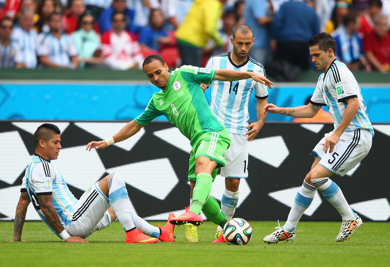 Nigeria Gegen Argentinien