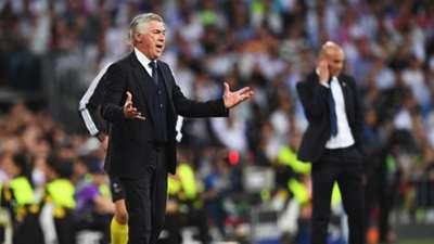 Carlo Ancelotti Zinedine Zidane Real Madrid Bayern Munich UCL 18042017
