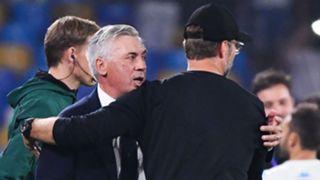 Ancelotti Klopp Napoli Liverpool