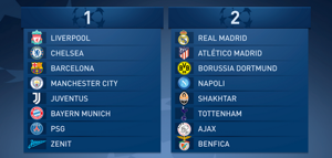 Recorte Bombos UCL