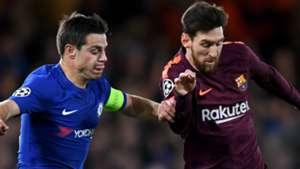 Lionel Messi, Barcelona, Cesar Azpilicueta, Chelsea