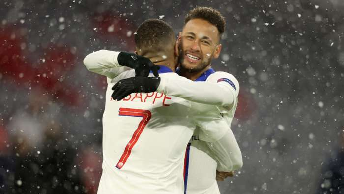 'He is our golden boy' - Neymar lavishes praise on PSG team-mate Mbappe (2021)