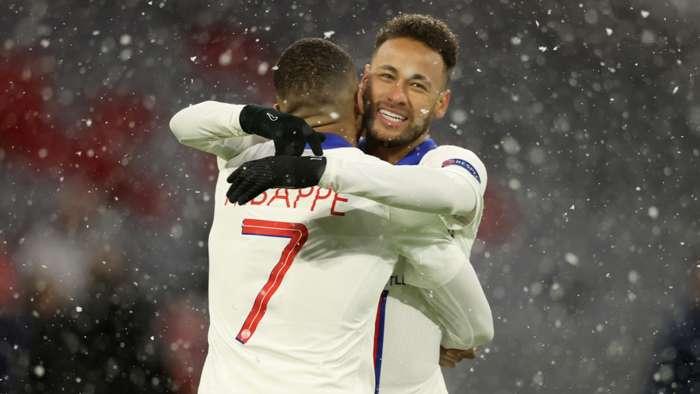 Mbappe, Neymar Bayern PSG Champions League quarterfinals 07042021