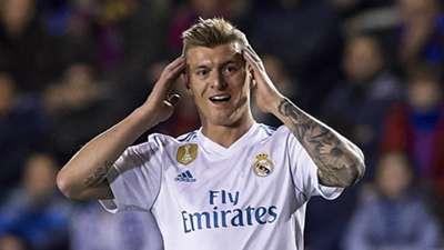 Toni Kroos, Real Madrid, 17/18