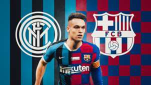 Lautaro Martinez Inter Barcelona