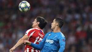 Stefan Savic Cristiano Ronaldo Atletico Madrid Juventus