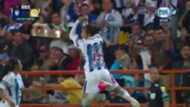 Festejo jugadora del Pachuca a lo Cristiano