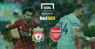 Liverpool v Arsenal Bet365