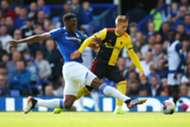 Yerry Mina Everton -Watford Premier League 2019