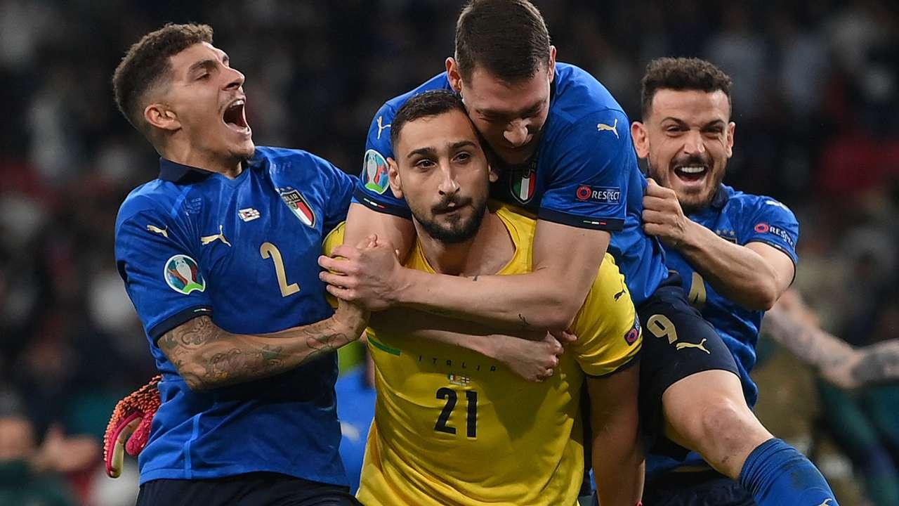 Donnarumma Italy England Euro