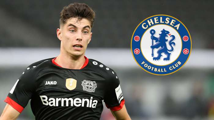Kai Havertz Bayer Leverkusen Chelsea 2019-20