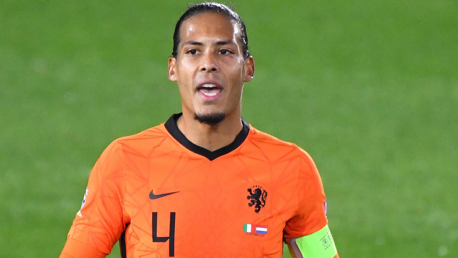 'This story is completely false!' - Van Dijk denies leading Netherlands squad revolt against Van Gaal return