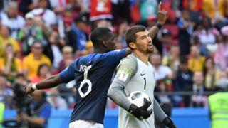 Paul Pogba Mat Ryan France Australia World Cup 2018 160618