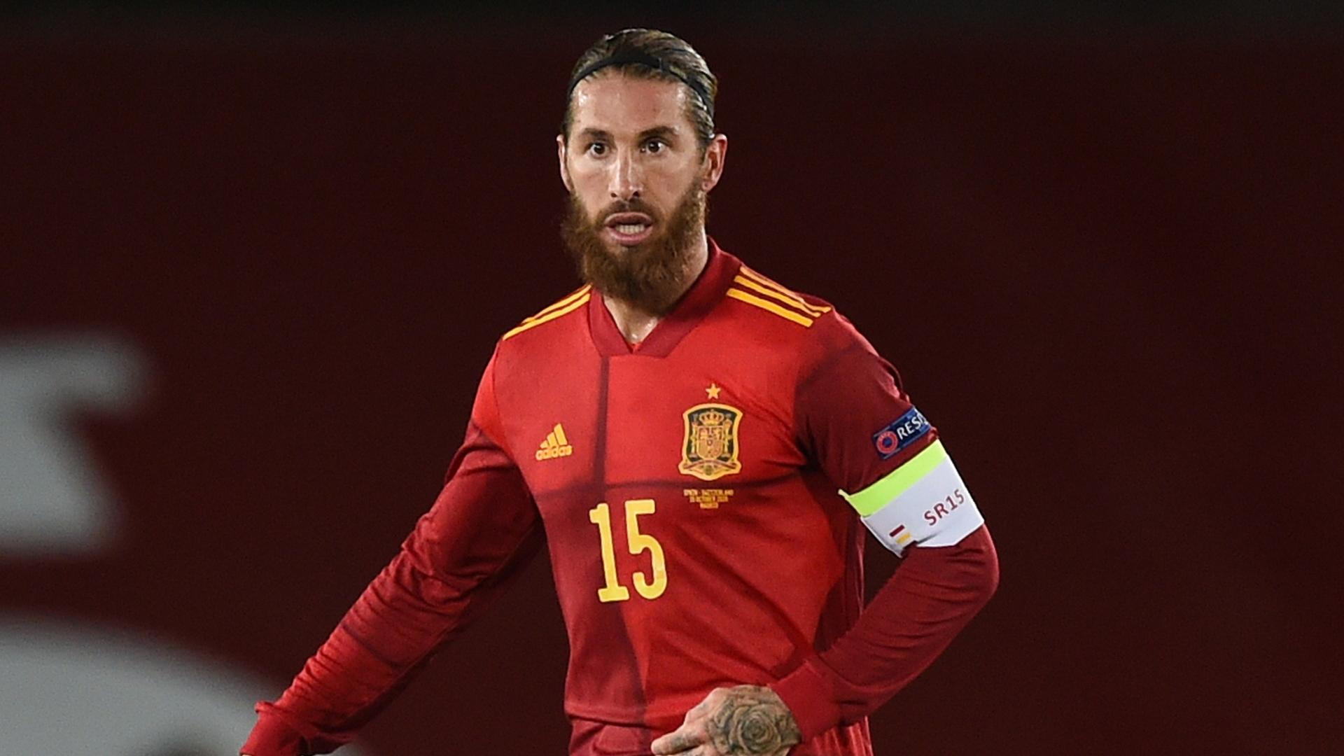 Spain captain Ramos equals Buffon's international record