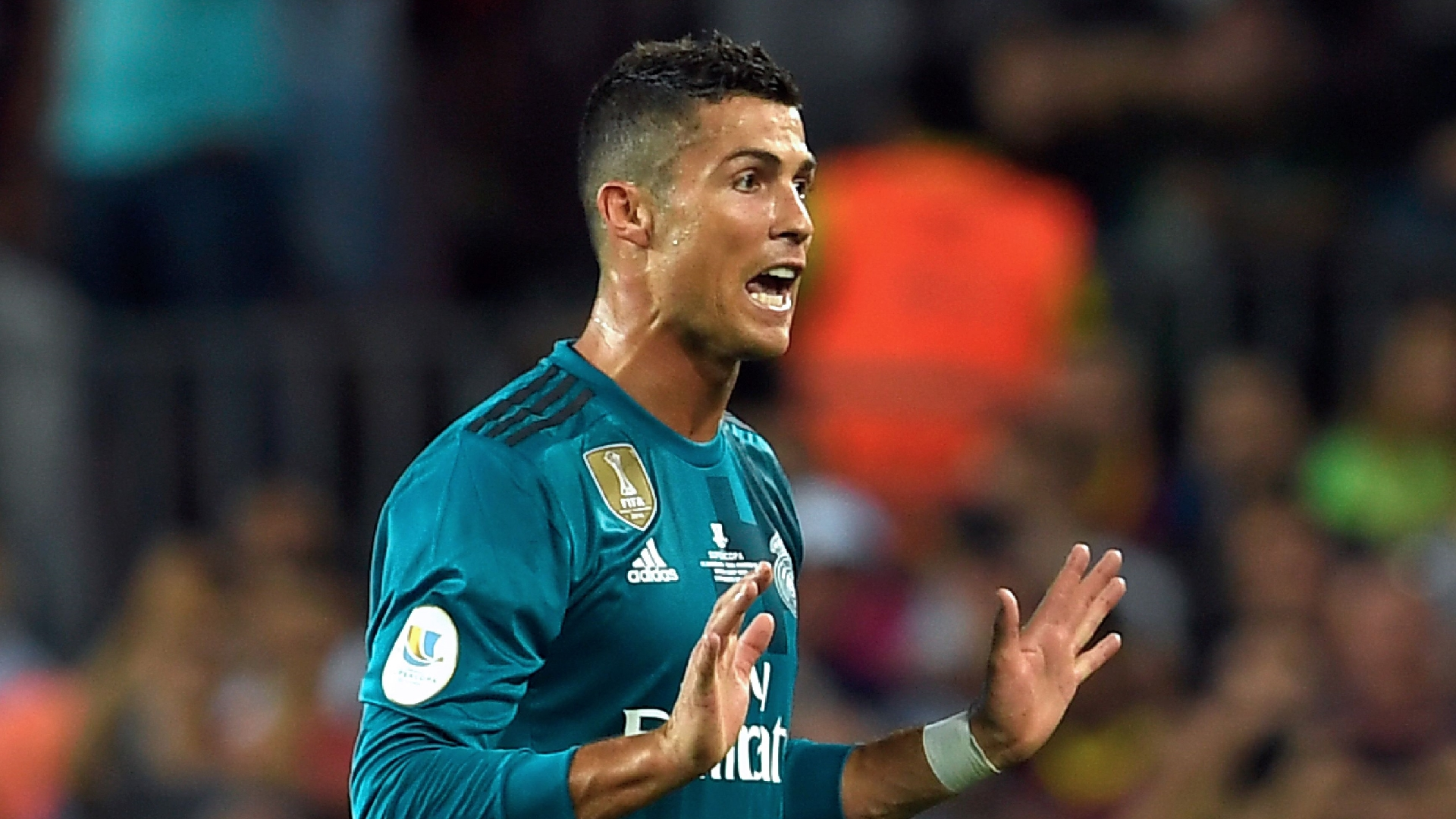 Cristiano Ronaldo, Real Madrid Supercopa