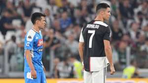 Hirving Lozano Cristiano Ronaldo Napoli Juventus 040919