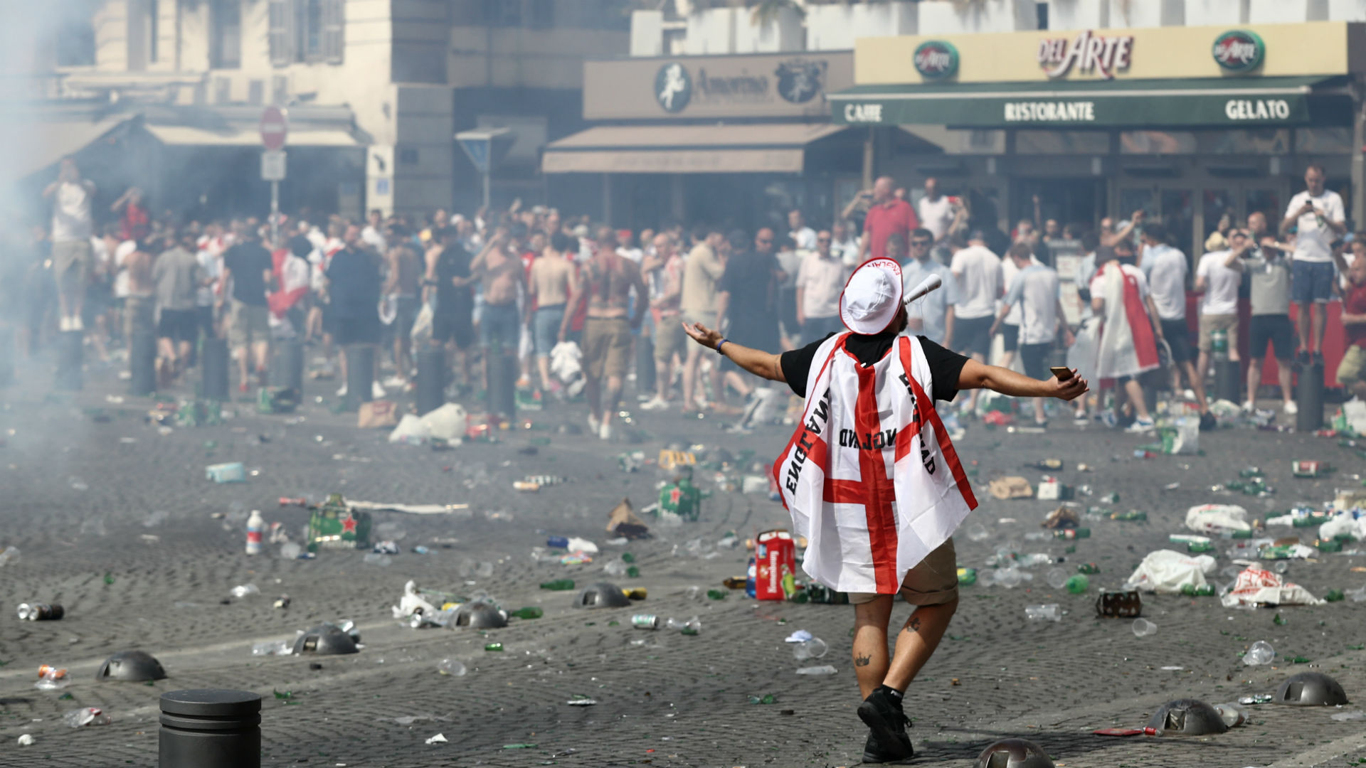 Euro 2016 hooligan England