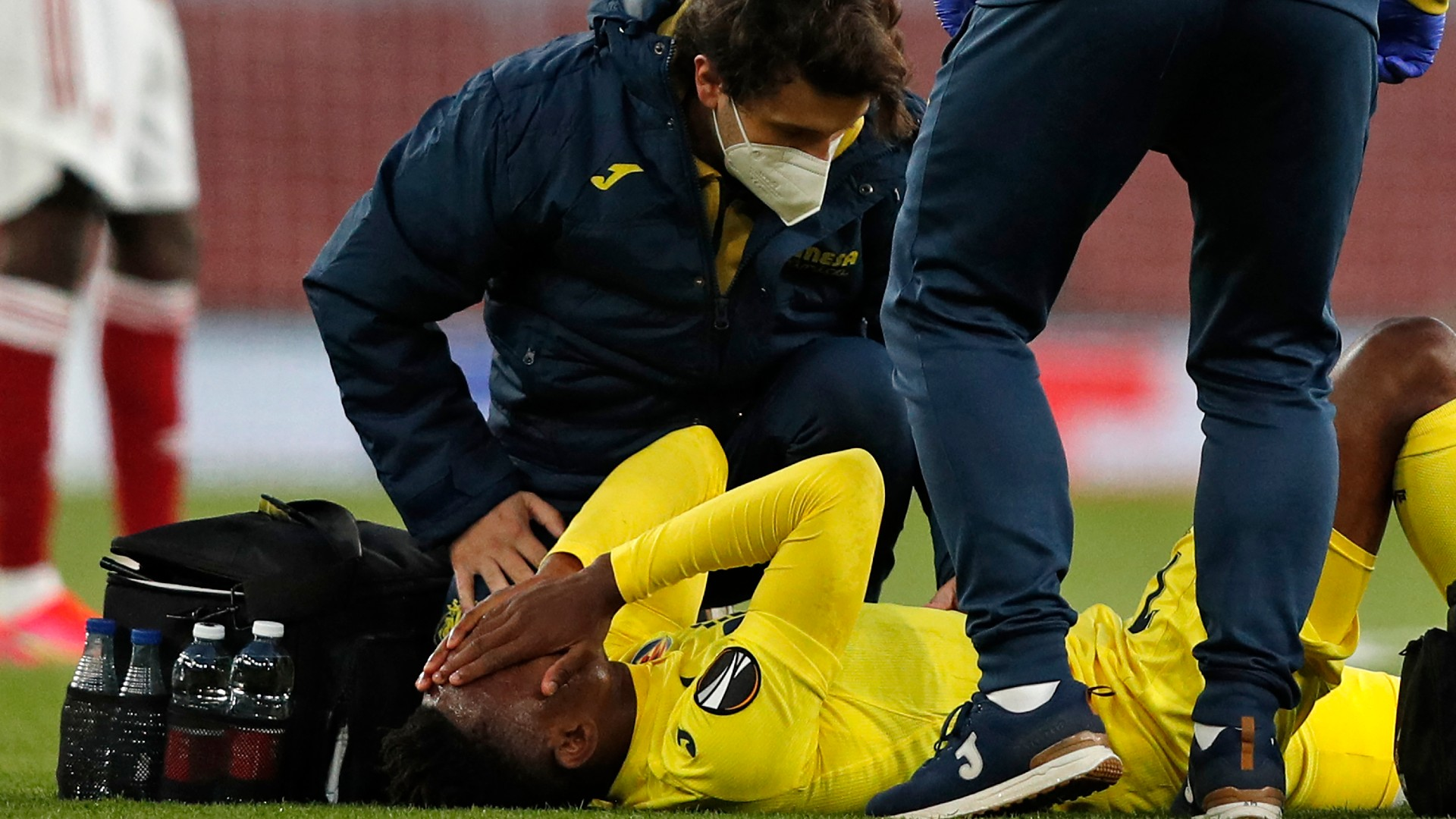 Villarreal's Chukwueze doubtful for Europa League final after suffering hamstring injury