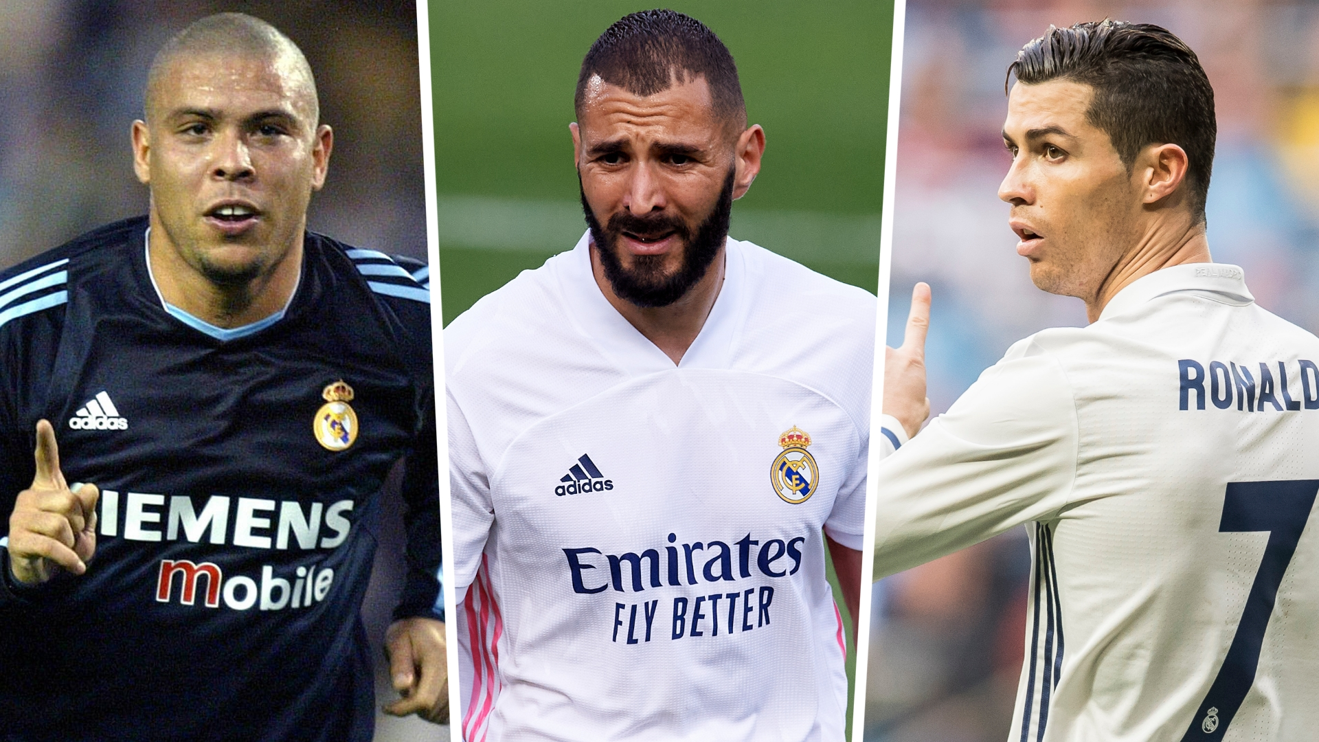Benzema idolised one Ronaldo & changed game for another at Real Madrid