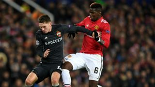 Paul Pogba Manchester United CSKA Moscow