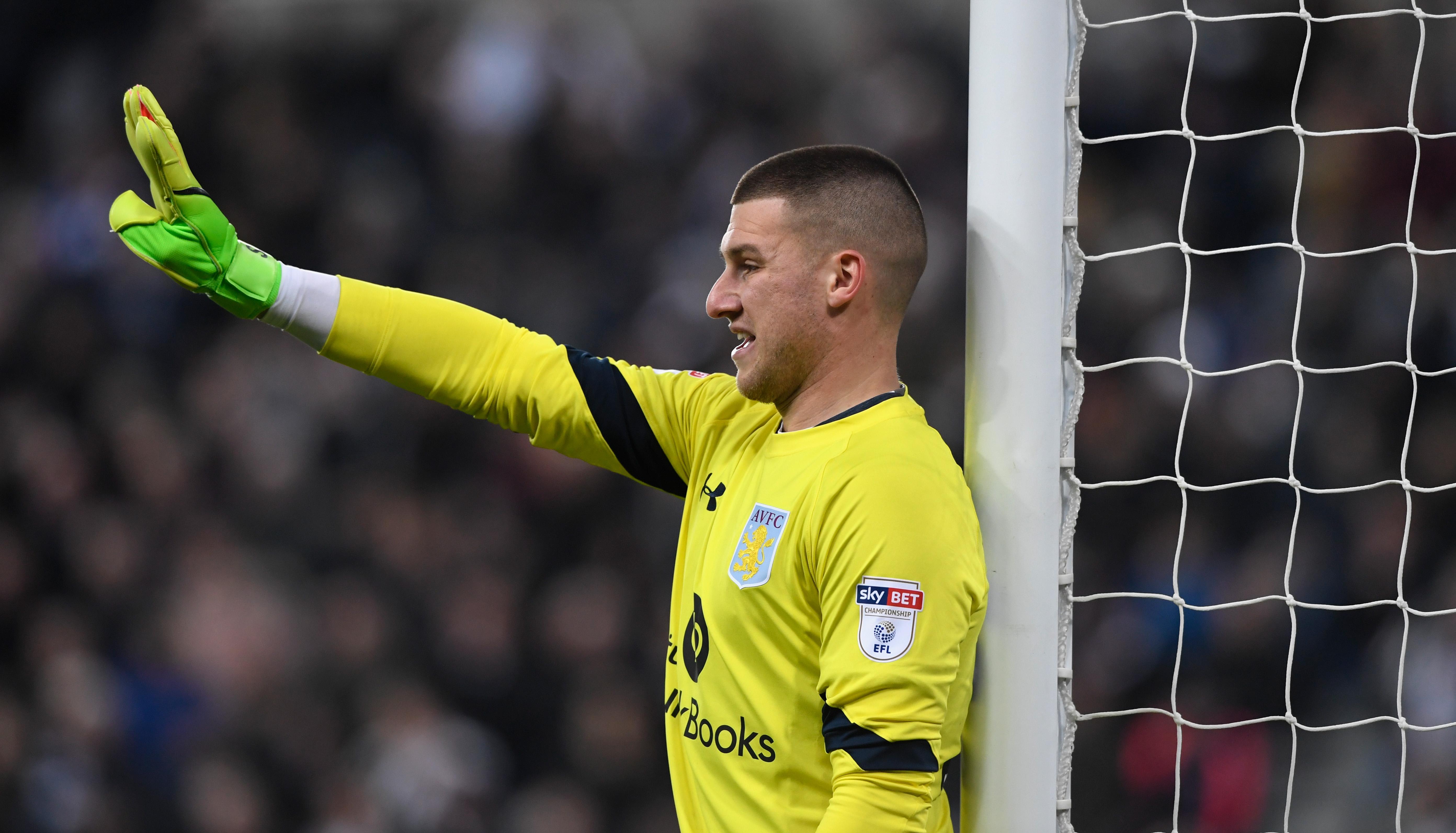 Sam Johnstone Aston Villa Manchester United