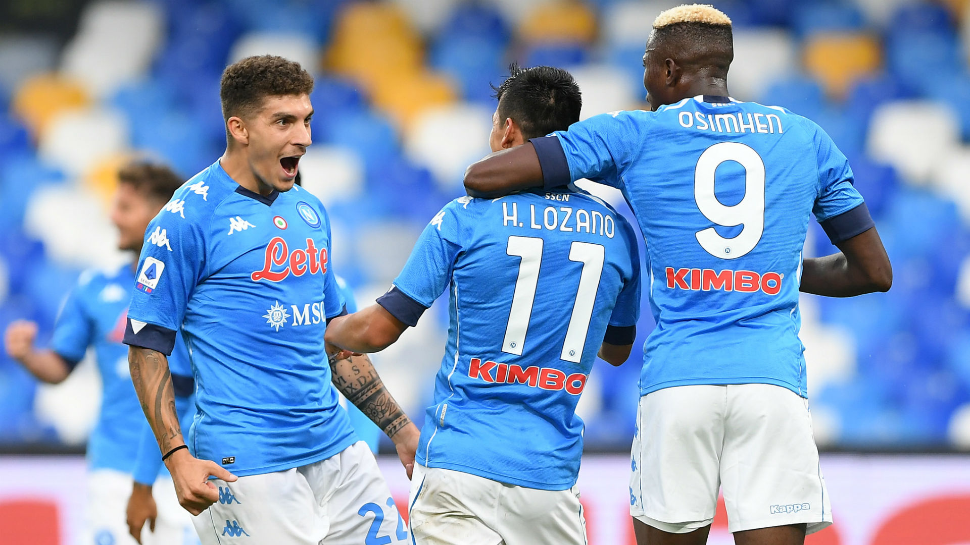 Unlucky Osimhen Grabs Assist As Napoli Demolish Genoa Goal Com