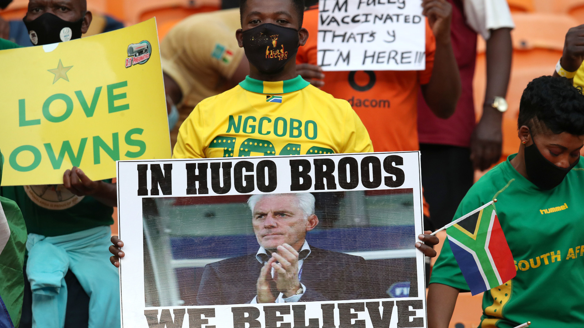 Broos explains why Bafana Bafana 'suffered a bit'
